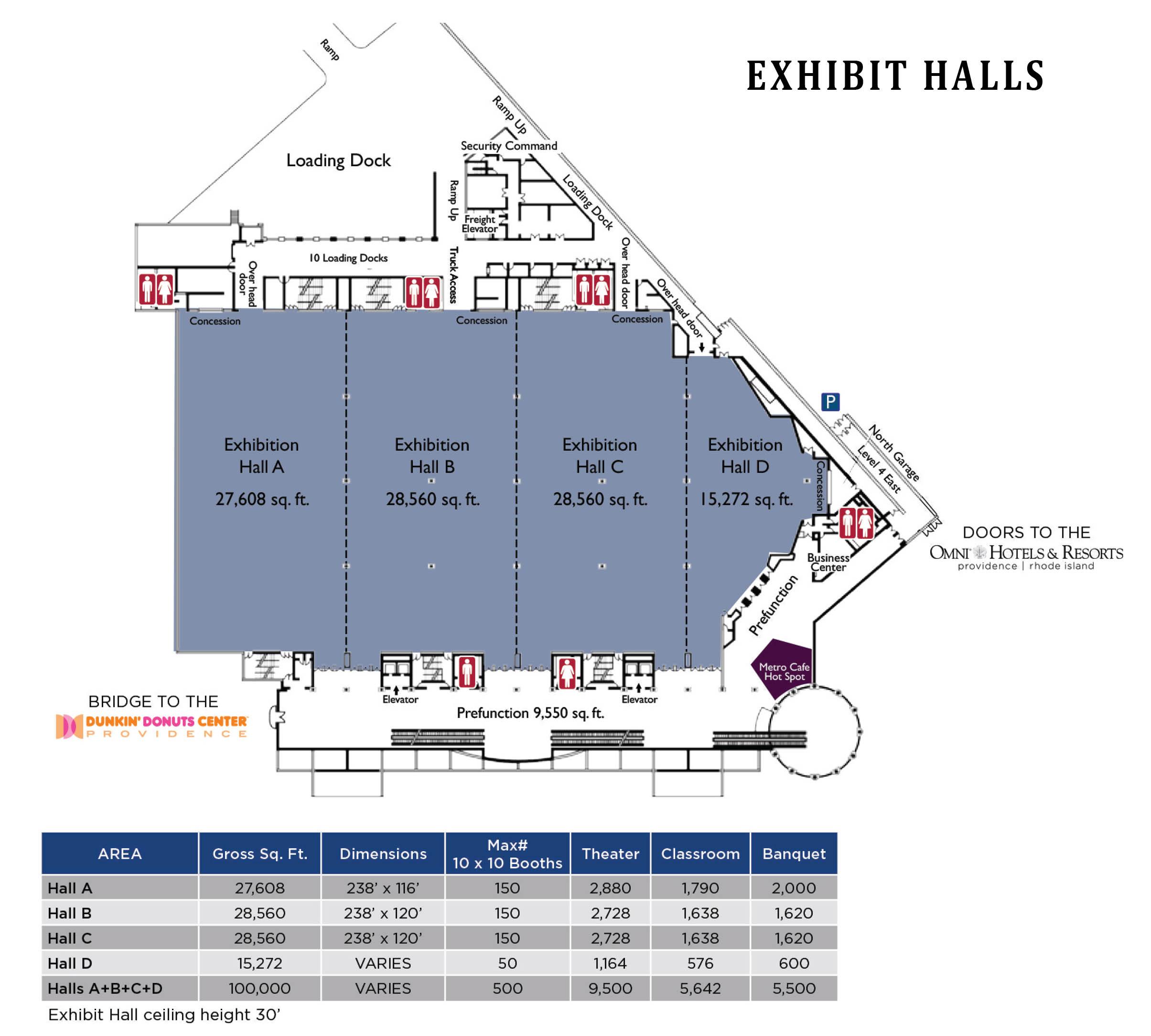 Exhibit Hall Floorplan ...